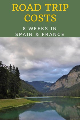 European Road Trip Costs - 8 weeks in Spain and France -Summer 2016. Click through to WagonersAbroad.com to read all of the details and see how much was spent.