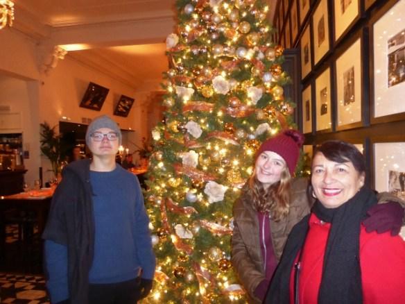 Edinburgh Christmas with grandma Linda