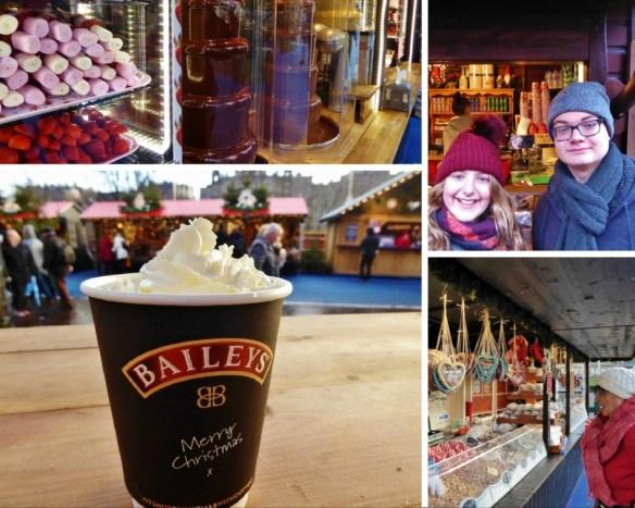 Edinburgh Christmas market treats