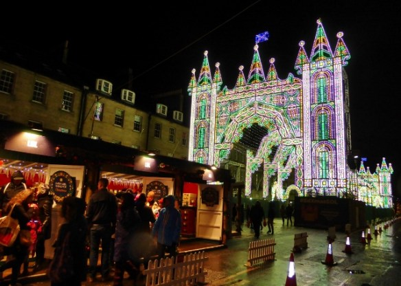 Edinburgh Christmas Street of Lights
