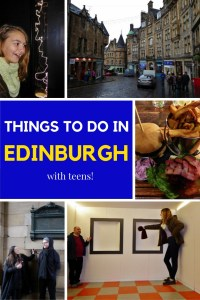 Top 15 Things To Do In Edinburgh With Teens! Read more on WagonersAbroad.com