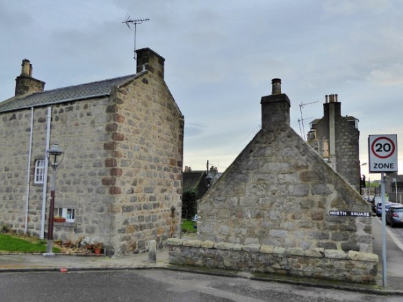One Of The Best Tiny House Villages Footdee Fittie - view from the road