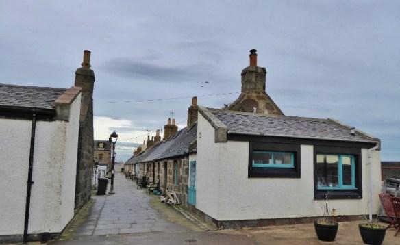 The village of Footdee in Aberdeen