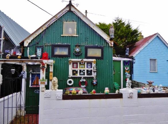 Fisherman's cottage in Footdee Fittie