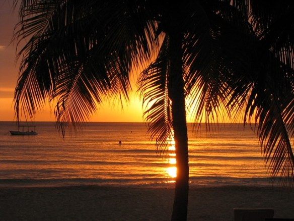 jamaica sunset negril beach