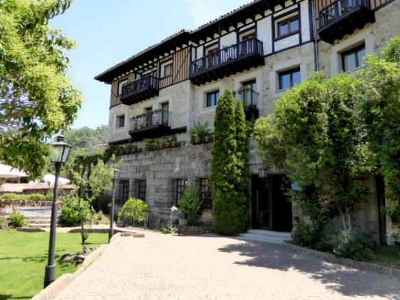Hotel Doña Teresa La Alberca day 1 Pueblo Espanol
