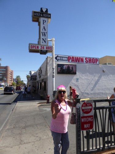Gma Bev 75 Bday Utah summer 2017 - Gold & Silver Pawn shop from Pawn Stars