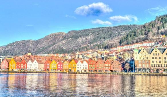 Bergen, Norway, Architecture, Harbor