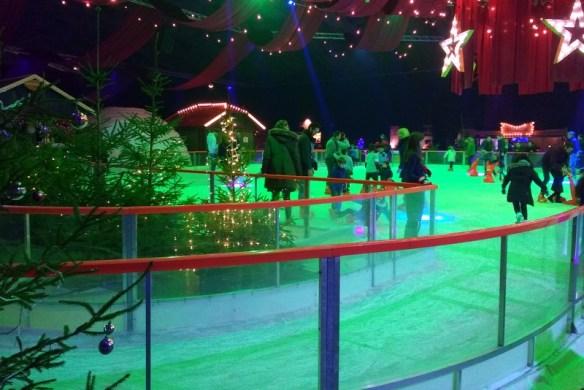 Amsterdam Christmas ice skating at Winter Parade Christmas Market