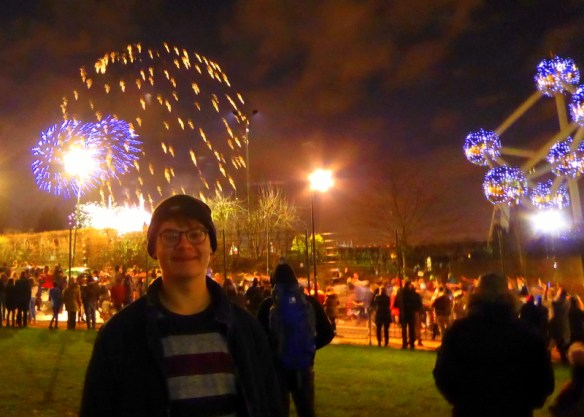 Brussels New Years Eve Atomium