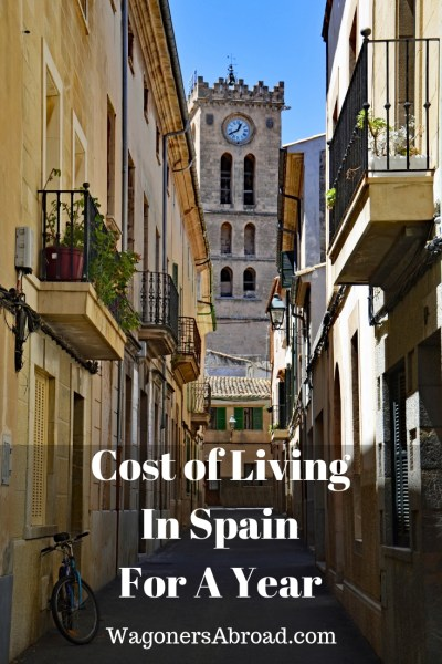 Cost of living in Spain for a year! How much does it cost living in Spain for a year? That all depends on you, but this family of 4 captured all of their costs for a year and share it with you. Including a 6 week European road trip! We are Americans sharing our cost of living in Spain. Read more on WagonersAbroad.com