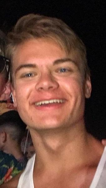 Lars Smiling at Coca-cola festival Malaga