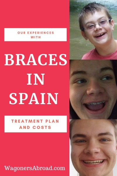 Hers's our experience with teen braces in Spain! We will cover finding an orthodontist, the treatment we followed, as well as our cost for braces in Spain. Read more on WagonersAbroad.com