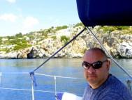 Alan enjoying the view