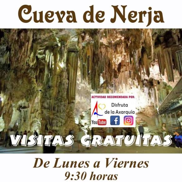 Free entry to the Nerja Caves Monday - Friday before 09:30 (advance tickets needed)