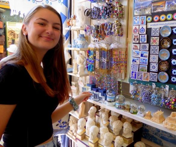 Souvenir Shopping Monastiraki Square