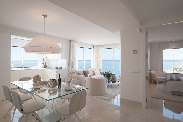 luxury penthouse Estepona iberia