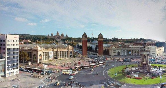 Plaça d'Espanya barcelona n340
