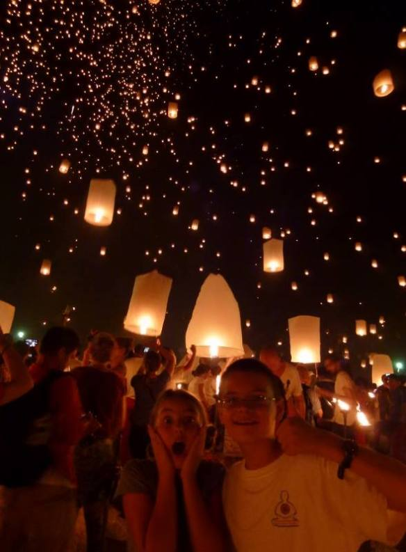 Anya-and-Lars-Loy Krathong Chiang Mai Thailand