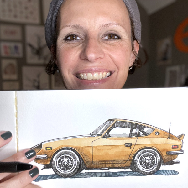 How I Draw Cars with France Van Stone