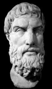 Epicurus Greek Philosopher Pursuit Pleasure