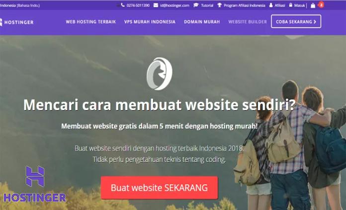 Hostinger Web Hosting Terbaik Indonesia Dan Di Dunia