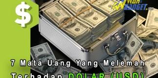 7 Mata Uang Yang Nilai Tukarnya Melemah Terhadap Dolar Amerika Serikat