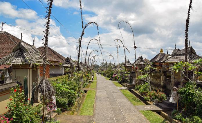 Ini Dia, 4 Destinasi Wisata Di Bali Yang Wajib Anda Kunjungi Desa Panglipuran Bali Indonesia