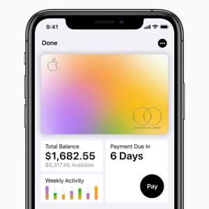 Apple發行信用卡產品「Apple Card」