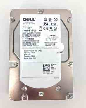 DELL 146GB 15K SAS 3GB/s 3.5″ HARD DRIVE (RY491)