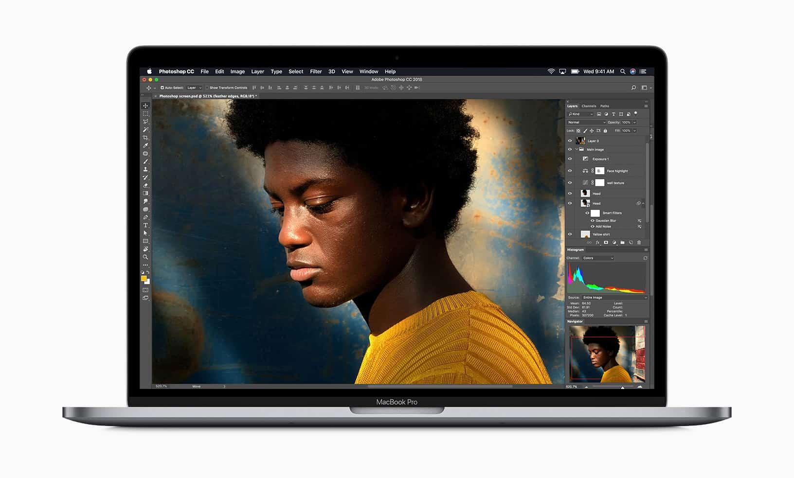 Apple推出首款8核心快速處理器 MacBook Pro