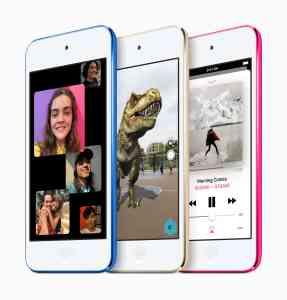 Apple推出全新iPod touch,採用快速A10 Fusion晶片