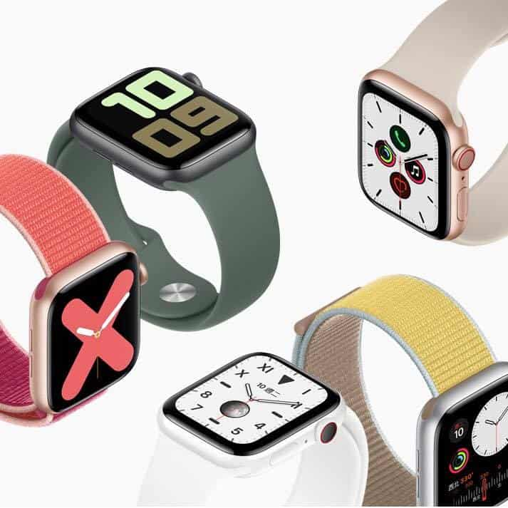 You are currently viewing Apple Watch Series 5 配備Always-On Retina 螢幕及內置指南針