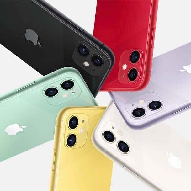 全新iPhone 11登場
