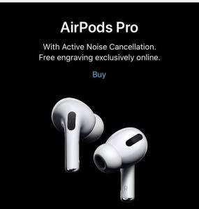 蘋果推出 AirPods Pro入耳式耳筒