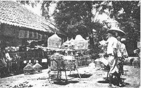 Pasar Ngasem tahun 1809