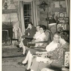 Garden Club meeting in Wahkeena lodge
