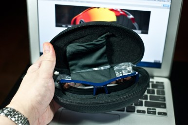 Oakley FLAK JACKET® XLJ SKU# 03-903 Color: Polished Navy/VR28 Black Iridium