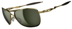 $250 Oakley CROSSHAIR® SKU#OO4060-01 Color: Polished Gold/Dark Grey