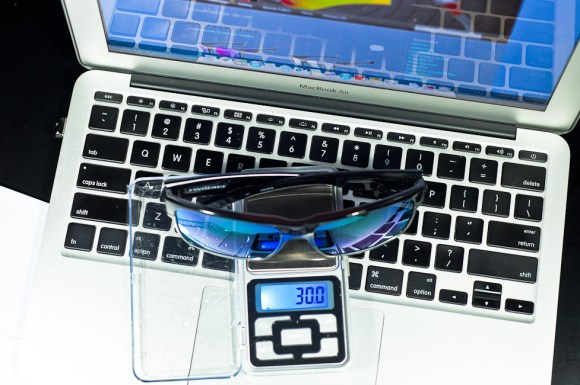 Weight of Oakley Two Face is 30.0g