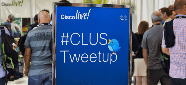 The opening night #CLUS Tweetup