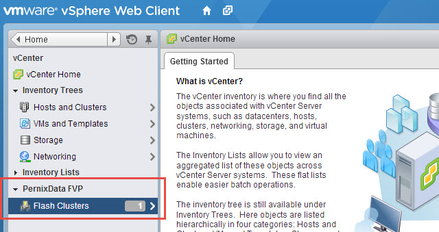 Flash Clusters in the Web Client