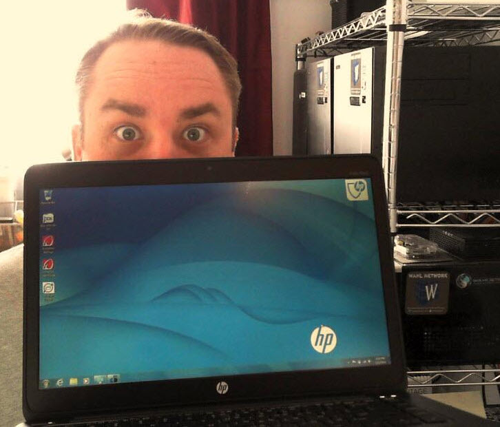 A Spin With The HP EliteBook Folio 1040 G1 - Wahl Network