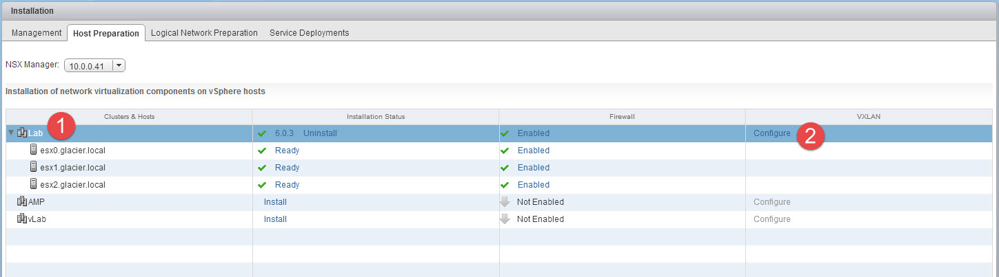 Working with NSX - Configuring VXLAN and VTEPs - Wahl Network