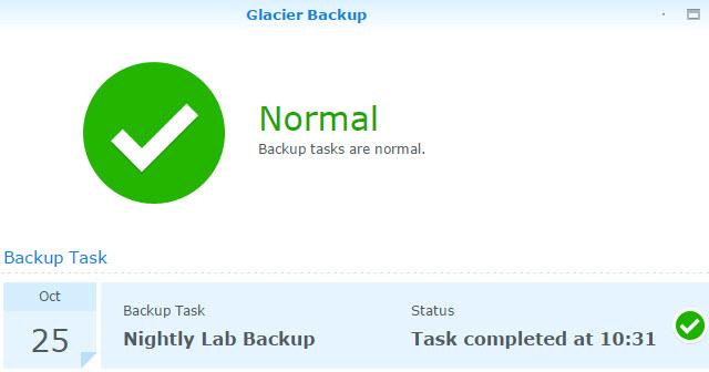 Backup Successful