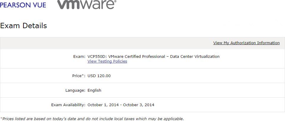 VMware Offers Delta Exam for VCP-DCV Recertification
