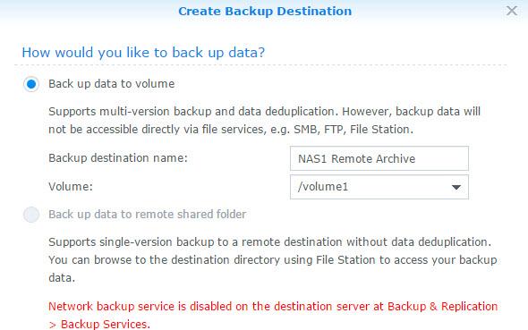 Back Up Data Config
