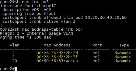 LLDP is now using VLAN 2
