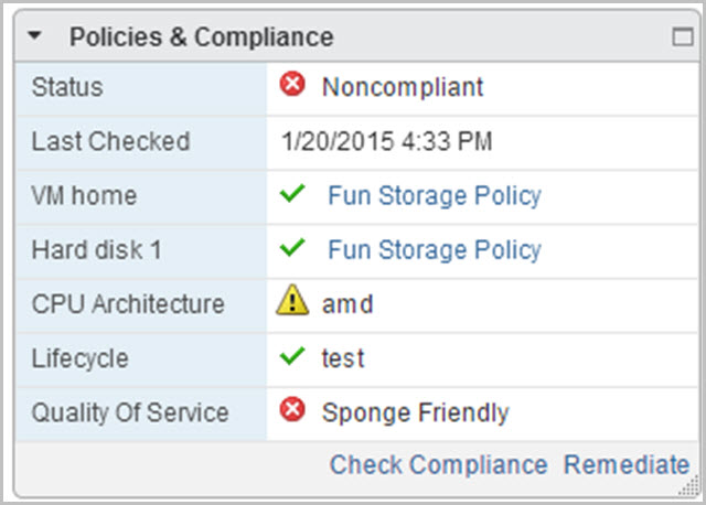 Controlling a Virtual Data Center with vSphere 6 Policies, Profiles
