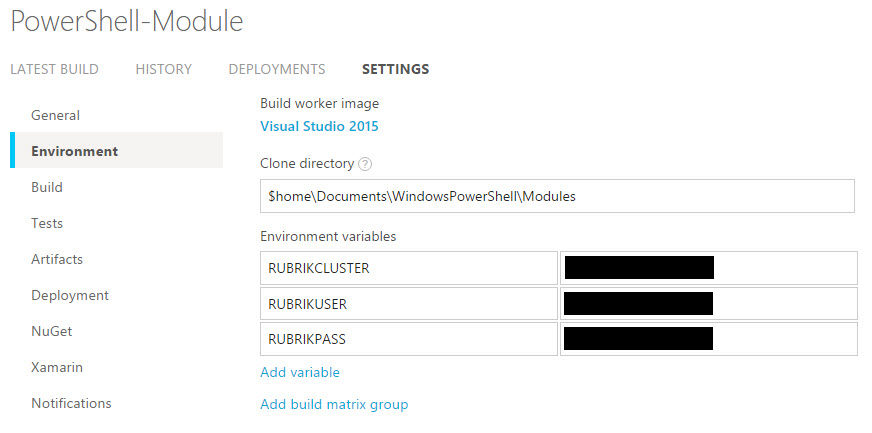 Constructing Private Test Credentials for Pester Testing